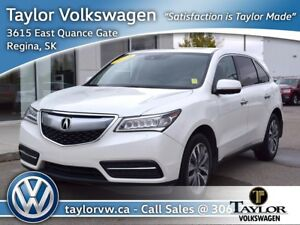 2016 Acura MDX Tech Fully Equipped Local Trade with Technology P