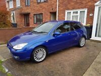 Ford focus st 170 imperial blue