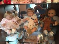 Different reborn dolls for sale fully boxed with certificates