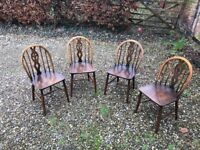 4 Four vintage Ercol Chairs