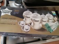 Brand new Tommee tippee starter bottles