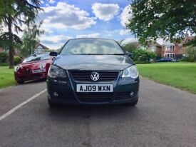 2009 VOLKSWAGEN POLO   5 Doors   Automatic   Low 57,400 Miles   1 Year MOT   VW POLO 2009