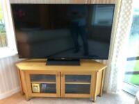 IKEA Skoghall Oak Corner TV Unit