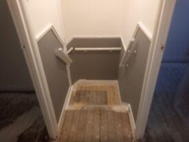 London Property refurbishment. Interior Painting, Refurbishment work