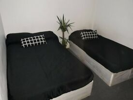 Nice twin room - Available to move now, 2 rooms flat, 1 bathroom, £650 p/m. NO FEES