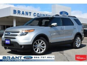 2015 Ford Explorer Limited - LOADED, ROOF, NAV!