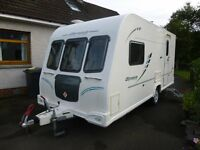Olympus Bailey alu-tech bodyshell 2 berth caravan 2010