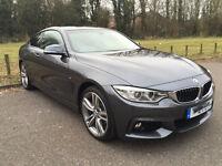 BMW 4 Series 420i M Sport xDrive 2dr - High Spec / Service Inclusive / Manufactures Guarantee
