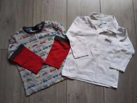 18-24 months 2 boys long-sleeved tee-shirts