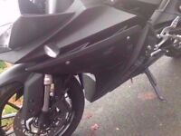 Yamaha yzf r125 abs 64 plate yzfr125 mt125 mt 125