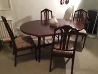 Nathan dining table and 4 chairs - Excellent Condition!