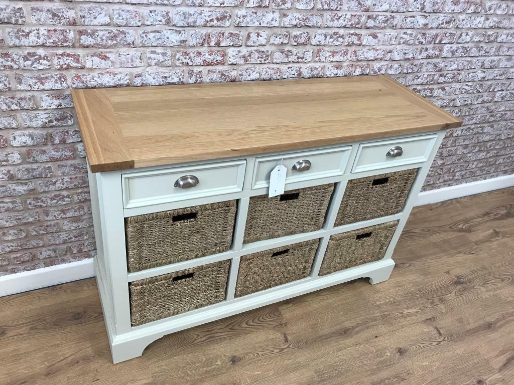 120cm wide sideboard with storage drawers