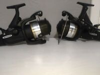 2 Shimano st 10000 RB bait runners black classic