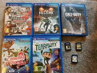 Playstation vita games