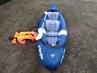 Sevylor Riviera inflatable kayak.