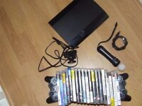 play station 3 500 G Two Controler & Games & PS Move PS3
