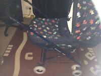 Bebe car pram/ pushchair