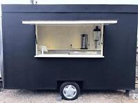 New Refurbished Mobile Catering Unit Burger Trailer van food truck