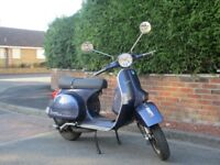 Vespa px 125, 2004, ONLY 3000 MILES !