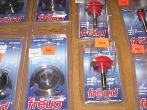 CLEARANCE PRICED FREUD ROUTER BITS