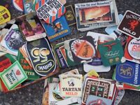 Old beer mats