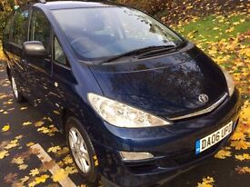 TOYOTA PREVIA T3 DIESEL 7 SEATS, SERVICE HISTORY AND 1 YEARS MOT