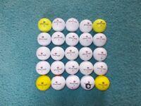 25 x WILSON STAFF Golf Balls -Grade A/B condition!