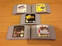 Nintendo 64 games bundle n64