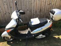 Scooter moped electric 50cc free to tax spares or repairs