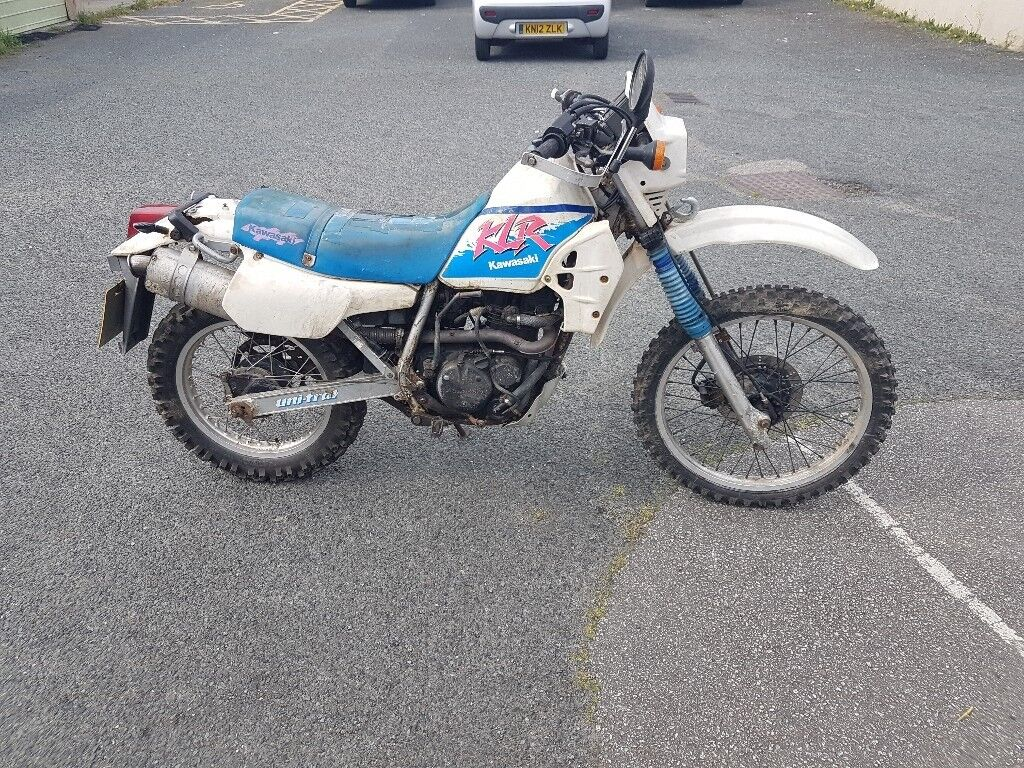 Kawasaki klr 250. Original with new mot