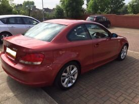 BMW 1 series coupe - LOW MILEAGE - 58 plate, with rear parking sensor, full service and clear hpi