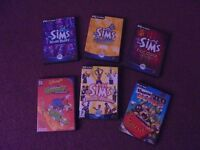 SIMS AND OTHER PC GAMES