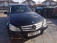Mercedes Benz C Class Diesel Automatic, Sat Nav, Excellent Condition