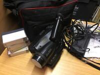 Panasonic NV-S20B VHS Camcorder - Retro!