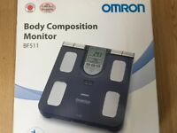 Omron BF511 Body Composition Monitor Scale