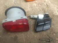 honda del sol crx vti rear fog light ukdm
