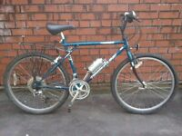 EXCELLENT GENTS GT TIMBERLINE HARDTAIL MOUNTAIN BIKE, 14 SPEED, 20 INCH FRAME