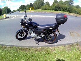 125 motorcycle lexmoto zsf perfect learner motorbike