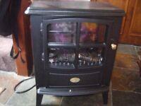 log burner affect fire.
