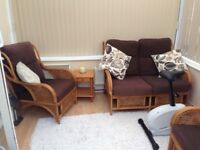 Conservatory furniture 3 piece set
