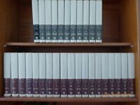 Encyclopaedia Britannica 15th Edition as new always kept in a glass fronted bookcase. 30 volumes .