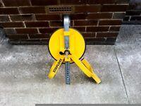 Stop lock caravan wheel clamp good condition