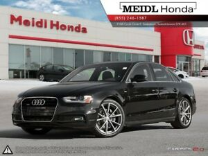 2015 Audi A4 2.0T Technik Plus S-Line 6MT