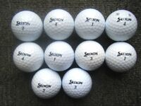 10 SRIXON AD333 tour golf balls in excellent condition