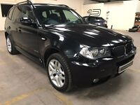 Fabulous Condition And Superb Value 2009 59 X3 2.0 XDrive Full Leather Privacy Glass FSH HPI Clear