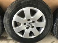 VOLKSWAGEN TRANSPORTER T5 ALLOY WHEELS