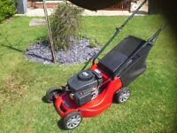 Lawnmower for sale. In very good condition and regularly maintained.
