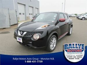 2016 Nissan Juke SL, $180 Bi-wkly, $5, 500 in price adjustments