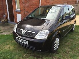 FOR SALE VAUXHALL MERIVA