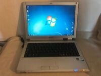 Philips Freevents X59 PC Laptop Core 2 CPU 1.66GHz